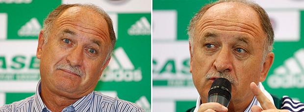 Luiz Felipe Scolari apresentação Palmeiras Felipão