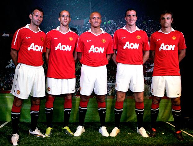 Apresentação nova camisa Manchester United