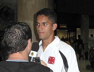Rômulo desembarque Vasco entrevista