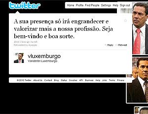 twitter Luxemburgo reprodução Felipão