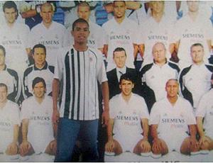 Reprodução twitter ronaldo com dentinho na foto real madrid