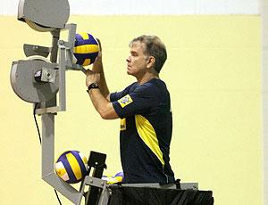 Técnico Bernardinho seleção brasileira de vôlei