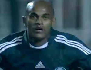 Ewerthon Palmeiras gol contra Santos