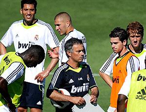 Mourinho comanda primeiro treino Real Madrid