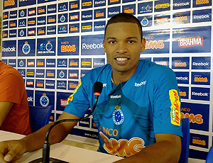 Wellington, zagueiro do Cruzeiro.