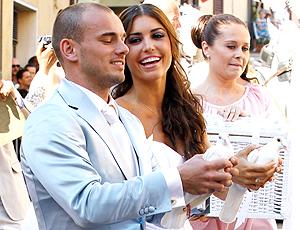Casamento Sneijder - Siena