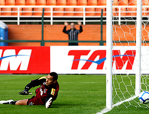 Fábio Costa, goleiro Atlético Mineiro jogo Corinthians