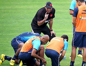 PC Gusmão, e jogadores. Treino Vasco
