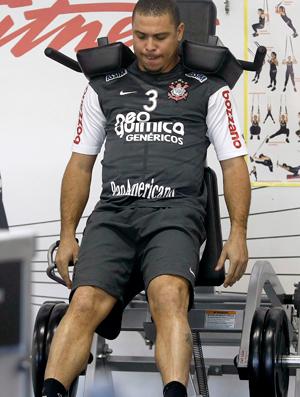 Ronaldo musculação treino Corinthians