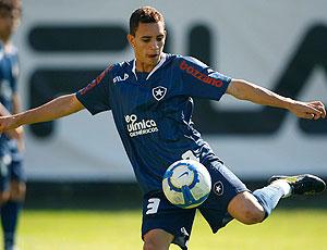 Caio  treino Botafogo