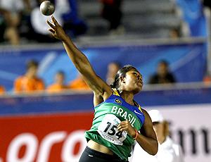Geisa Arcanjo medalha de ouro arremesso de peso Mundial Junior Moncton Canadá