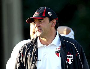 Ricardo Gomes, técnico do São Paulo treino