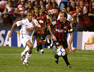 Wesley Paulo Baier Atlético-PR x Santos