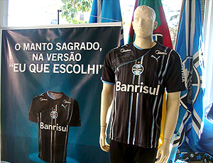 Terceira camisa Grêmio