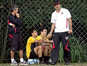 Ricardo Gomes treino São Paulo
