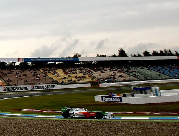 Adrian Sutil treino F1 Alemanha