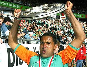 Ailton comemoração Werder 2004