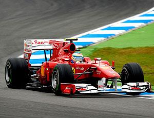 Alonso treino F1 Alemanha