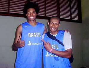 Lucas Bebê e Leandrinho 2, basquete