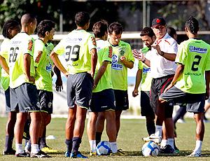 Jogadores treino Flamengo