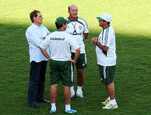 Muricy Ramalho treino Fluminense reunião