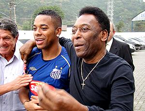 Robinho e Pelé