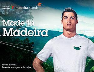 Cristiano Ronaldo garoto propaganda Ilha da Madeira