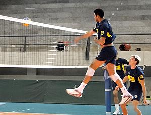 vôlei treino Brasil seleção