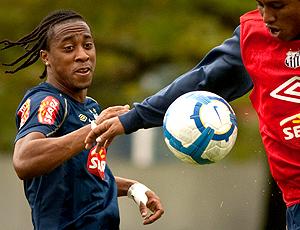 Arouca, treino Santos