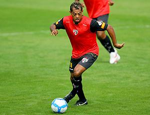 Marcelinho Paraíba  treino São Paulo