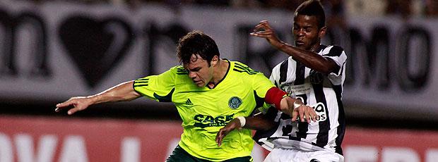 Kleber no jogo do Palmeiras contra o Ceará
