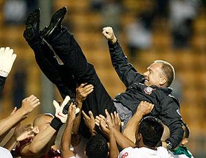 Mano Menezes festa de despedida Corinthians