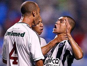 confusão de Mariano e MarceloCordeiro no Botafogo e Fluminense
