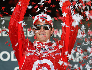 Scott  Dixon troféu fórmula Indy