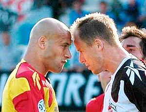 Jogadores Colônia briga amistosos pré-temporada