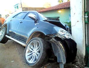 Denis Marques, acidente 03 (Foto: Ednelson Feitosa / Gazetaweb.com)