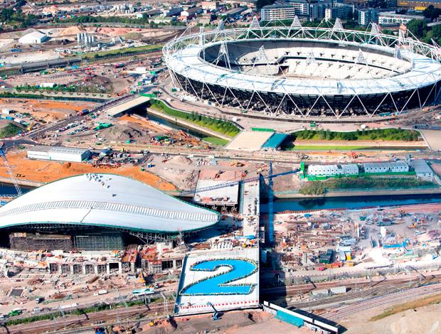 Obras estádio olímpico de Londres