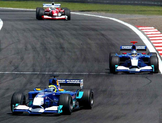Felipe Massa e Heidfeld Gp Europa 2002