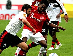 Tinha, Internacional jogo Flamengo