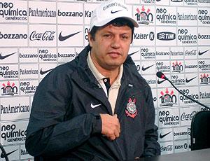 Adilson Batista apresentação Corinthians