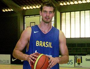 Thiago Splitter apresentação seleção basquete