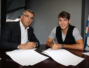 Felipe Mattioni, ex-milan e grêmio, assina com Espanyol Barcelona
