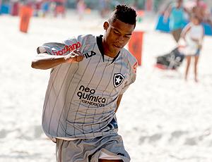 Maicosuel, treino Botafogo na praia