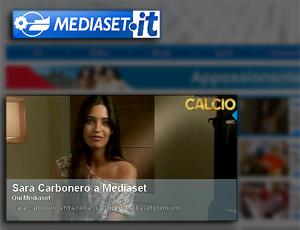 Sara Carbonero contratada Tv Silvio Berlusconi