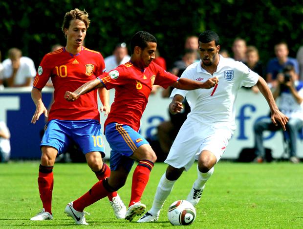 Sergio Canales, Thiago Alcantara Espanha Sub 19 (Foto: Getty Images)