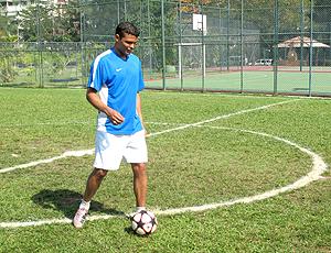 Thiago Silva, Milan joga bola campo casa