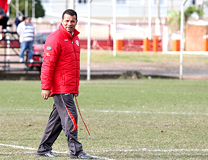 Celso Roth, técnico do Internacional. Treino