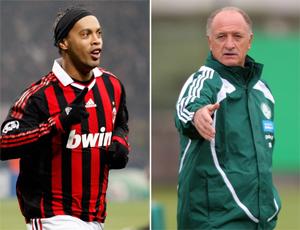 Ronaldinho e Scolari