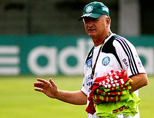Felipão treino Palmeiras
