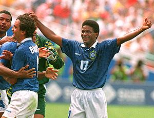 Mazinho e Branco, na Copa de 94